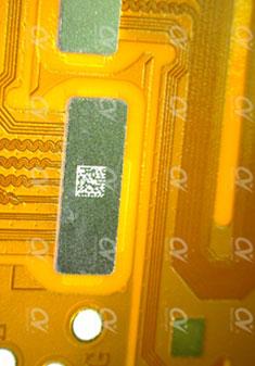 FPC补强钢片二维码标刻.jpg