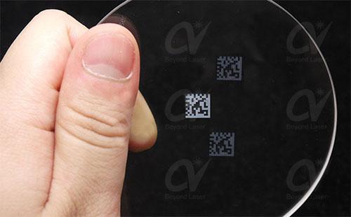 紫外激光打标机加工玻璃的工艺分析